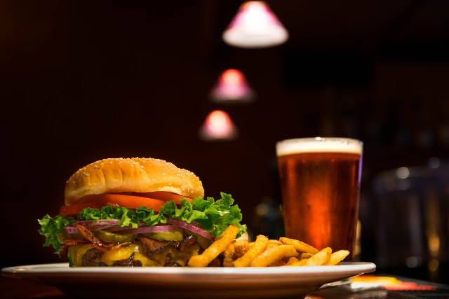 Enjoy a Burger and a Beer at Back Bay Social Club